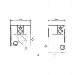 Примеры оборудования поручнями туалетных комнат или кабин ванных и душевых комнат в общественных зданиях и сооружениях.