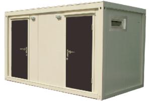 Модульный туалет эконом КМТ-3.3
