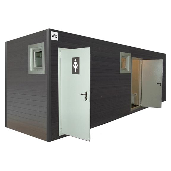 туалетный модуль для парка