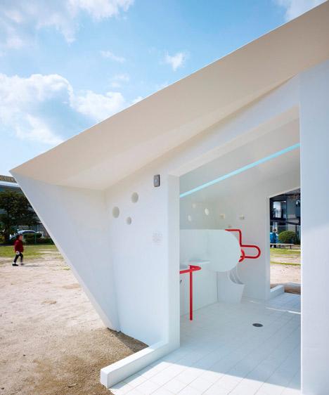 туалеты в парках, опыт оборудования туалетов в парках