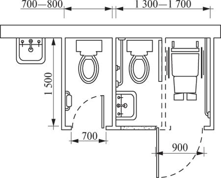 устройство одной специальной кабины на месте двух обычных