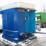 модульный туалет на метро Новокузнецкая, 2014 год