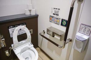Туалет с функцией биде