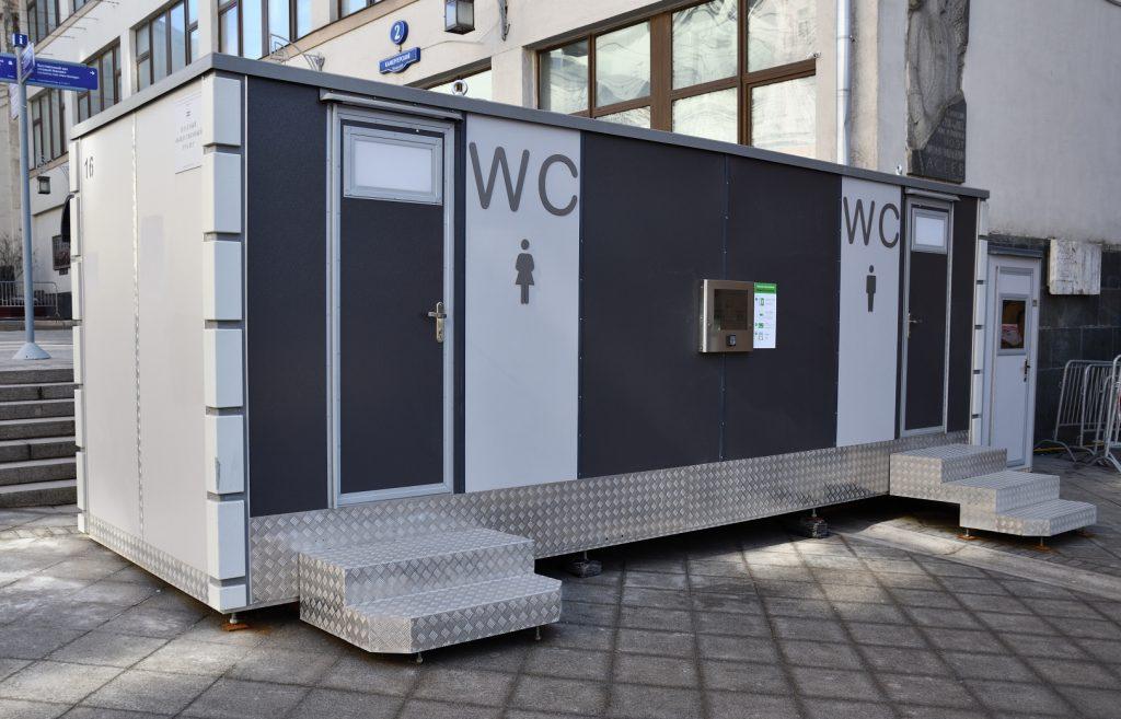 модульный туалет, Камергерский переулок